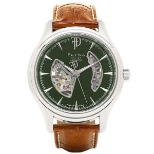 フルボデザイン 腕時計 Furbo design F5025SGRBR グリーン ブラウン|axes
