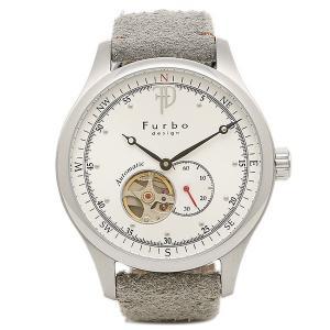 フルボデザイン 腕時計 Furbo design F5030SSIGY ホワイト グレイ|axes