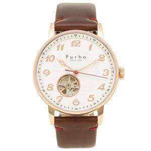 フルボデザイン 腕時計 メンズ Furbo design F8202PSIBR シルバー ブラウン|axes