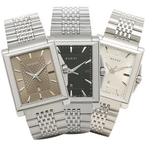 920d9c18d153 グッチ GUCCI 時計 Gタイムレス G-TIMELESS レクタングル メンズ腕時計 ウォッチ 選べるカラー