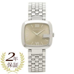 グッチ 腕時計 GUCCI YA125410 シルバー ブラ...