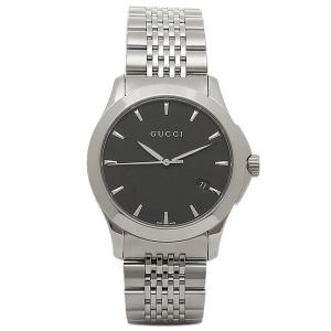 55f64ec36ea 「P10倍 3 29 10 00まで」 グッチGUCCI時計 メンズ GUCCIグッチ 腕時計 YA126402 Gタイムレス