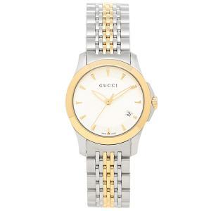 グッチ 腕時計 GUCCI YA126511 シルバーゴール...