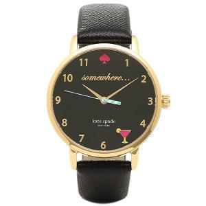 ケイトスペード 腕時計 KATE SPADE KSW1039 ブラック 【10%オフ対象】