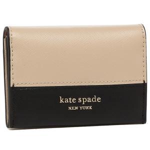 ケイトスペード カードケース スペンサー ベージュ レディース KATE SPADE PWR00285 195|axes