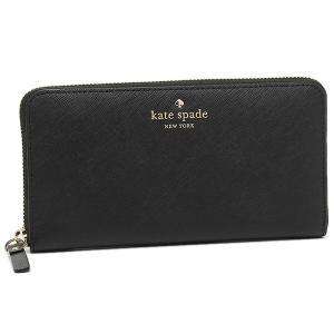 ケイトスペード 長財布 KATE SPADE PWRU3898 001 ブラック 【10%オフ対象】
