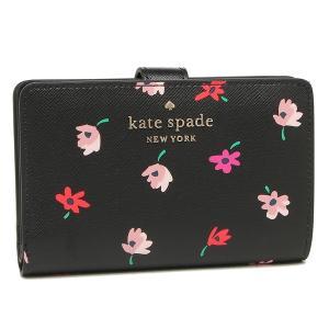 【返品OK】ケイトスペード アウトレット 二つ折り財布 ステイシー ブラックマルチ レディース KATE SPADE WLR00608 098|axes