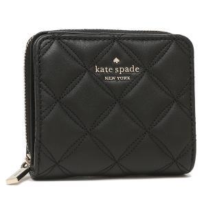 【返品OK】ケイトスペード アウトレット 二つ折り財布 ナタリア ブラック レディース KATE SPADE WLR00646 001|axes