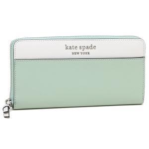 【返品OK】ケイトスペード 長財布 アウトレット レディース KATE SPADE WLRU6014 307 ライトブルー|axes
