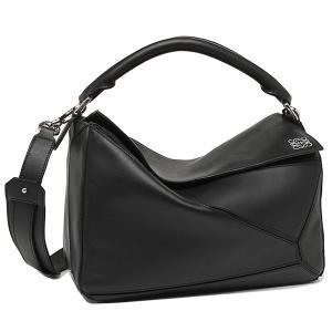 ロエベ バッグ LOEWE 322.30.K74 1100 PUZZLE SMALL BAG ショルダーバッグ BLACK