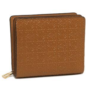 【返品OK】ロエベ 二つ折り財布 リピート アナグラム ブラウン レディース LOEWE C499Z41X032530 2530|axes