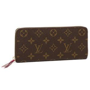 ルイヴィトン 財布 LOUIS VUITTON M60742 モノグラム ポルトフォイユ・クレマンス 長財布 フューシャ|axes
