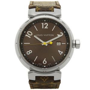 ルイヴィトン 腕時計 LOUIS VUITTON Q1111A ブラウン|axes