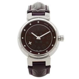 ルイヴィトン 腕時計 LOUIS VUITTON Q12M30 28mm アマラント シルバー|axes