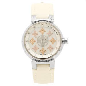 LOUIS VUITTON 腕時計 ルイヴィトン Q12MS0 ホワイト|axes