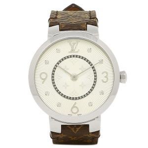 ルイヴィトン 腕時計 LOUIS VUITTON Q13MJB モノグラム シルバー|axes