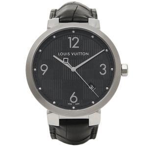 ルイヴィトン 腕時計 LOUIS VUITTON Q1D002 ブラック|axes