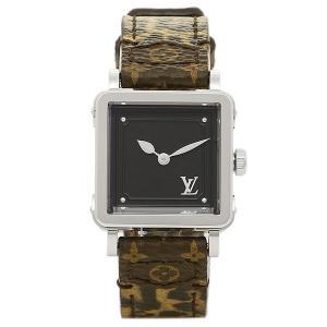 ルイヴィトン 腕時計 LOUIS VUITTON Q3M003 モノグラム ノワール|axes
