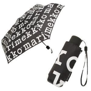 【返品OK】 マリメッコ 折り畳み傘 MARIMEKKO 041399 910 レディース ブラック...