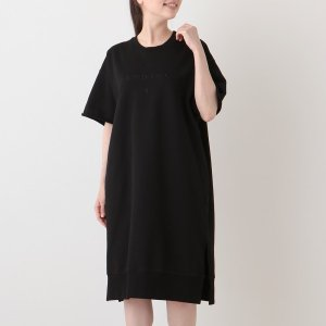 【返品OK】エムエムシックス メゾンマルジェラ トップス ワンピース ドレス ブラック レディース MM6 Maison Margiela S52CT0650 S25337 900 axes