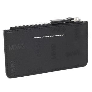 【返品OK】エムエムシックス メゾンマルジェラ カードケース フラグメントケース ブラック レディース MM6 Maison Margiela S54UI0071 P4393 T8013|axes