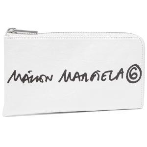 エムエムシックス メゾンマルジェラ 長財布 ハンドプリント ナンバーロゴ ホワイト レディース MM6 Maison Margiela S54UI0123 P4145 H8705 axes