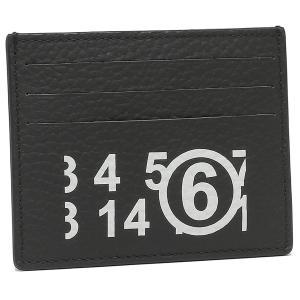 【返品OK】エムエムシックス メゾンマルジェラ カードケース ブラック レディース MM6 Maison Margiela S54UI0129 PR931 T8013 axes