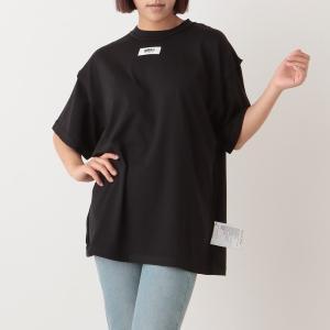 【返品OK】エムエムシックス メゾンマルジェラ トップス リバースTシャツ ブラック レディース MM6 Maison Margiela S62GD0089 S23955 900 axes