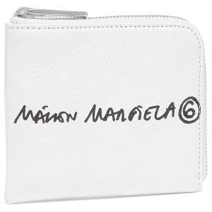 エムエムシックス メゾンマルジェラ コインケース ホワイト レディース MM6 Maison Margiela S63UI0002 P4145 H8705 axes