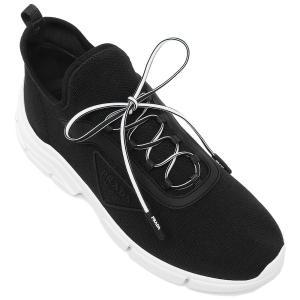 プラダ  スニーカー 靴 シューズ ニットスニーカー ブラック レディース PRADA 1E451M 3KK5 F0632 015|axes