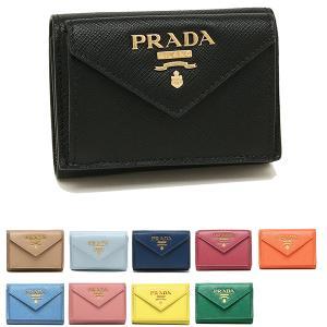 プラダ 三つ折り財布 サフィアーノ ミニ財布 レディース PRADA 1MH021 QWA|axes
