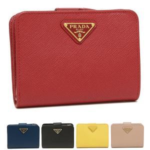 プラダ 二つ折り財布 サフィアーノ レディース PRADA 1ML018 QHH|axes