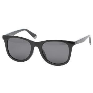 「P15%還元 8/2 10:00まで」ポラロイド サングラス アイウェア メンズ レディース 53サイズ グレー ブラック アジアンフィット POLAROID PLD 6112/F/S 807 M9 axes