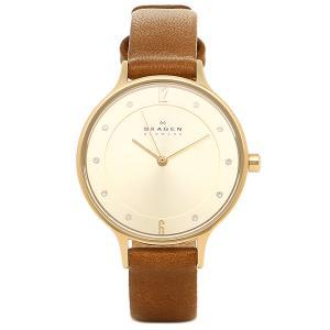 スカーゲン 腕時計 SKAGEN SKW2147 ブラウン シャンパンゴールド