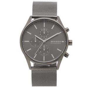 スカーゲン 腕時計 メンズ HOLST ホルスト 42MM SKAGEN SKW6608 ガンメタル グレー|axes
