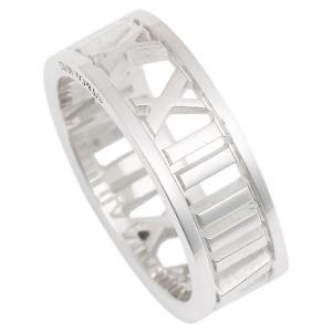 【返品OK】ティファニー リング アクセサリー TIFFANY&Co. アトラス ワイド オープン レディース 指輪 シルバー|axes