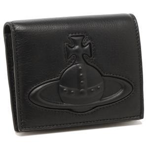 【返品OK】ヴィヴィアンウエストウッド 二つ折り財布 チェルシー ブラック メンズ レディース VIVIENNE WESTWOOD 51010024 41499 N403|axes