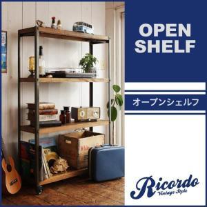 西海岸テイストヴィンテージデザインダイニング家具シリーズ【Ricordo】リコルド オープンシェルフ|axisnet