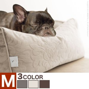 ペット用品 ペット ベッド ドルチェ Mサイズ タオル付き カドラー 犬用 猫用 小型 中型 ソファタイプ|axisnet