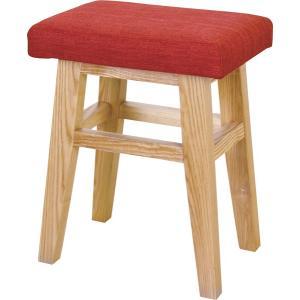 スツール レッド 1P 1人掛け チェア チェアー 椅子 イス|axisnet