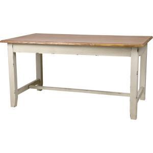 ダイニングテーブル インテリア 食卓 テーブル ダイニング 木製テーブル 木製 木脚 天然木 アンティーク風 アジアン カントリー 長方形 お洒落 幅145|axisnet