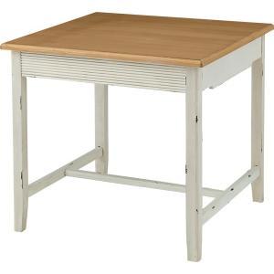 ダイニングテーブル インテリア 食卓 テーブル ダイニング 木製テーブル 木製 木脚 天然木 アンティーク風 アジアン カントリー 長方形 お洒落 幅80|axisnet
