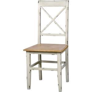 ダイニングチェア インテリア チェア チェアー 椅子 イス いす ダイニングチェアー 食卓椅子 食卓イス 天然木 木製 アンティーク風 カントリー風 WH|axisnet