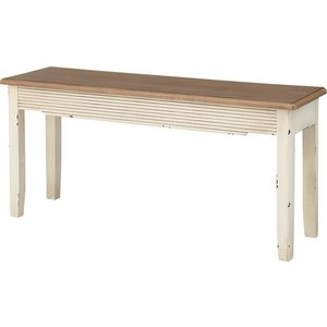 ベンチ インテリア チェア チェアー 椅子 イス いす ベンチ ベンチチェア ベンチチェアー 天然木 木製 木脚  天然木 アンティーク風 カントリー風 完成品|axisnet