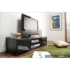 背面 収納 TVボード ROBIN ロビン 幅120cm ブラック テレビ台 TV台 テレビボード テレビラック TVラック AVラック AVボード AV収納 キャスター付き|axisnet