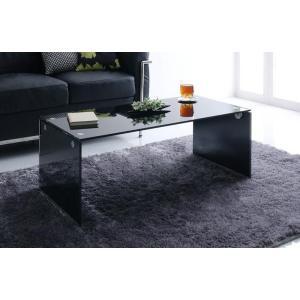 ガラス ローテーブル Lena レナ ブラック センターテーブル リビングテーブル ガラステーブル カフェテーブル コーヒーテーブル サイドテーブル 強化ガラス|axisnet