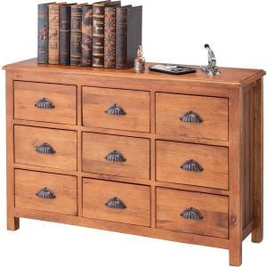 ワイドチェスト 9D 棚 書棚 本棚 シェルフ ラック ブックシェルフ 飾り棚 収納 リビング収納|axisnet