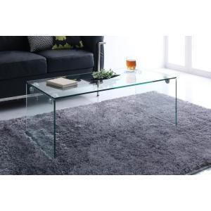 ガラス ローテーブル クリア センターテーブル リビングテーブル ガラステーブル カフェテーブル コーヒーテーブル サイドテーブル 強化ガラス|axisnet