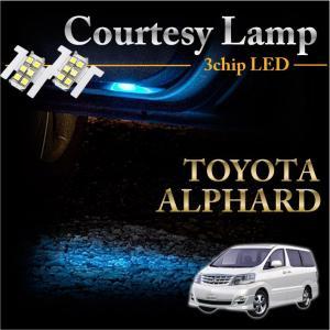 トヨタ アルファード専用LEDカーテシランプ2個1セット5色選択可!高輝度3チップLEDメール便発送(※メール便為 時間指定不可!) axisparts