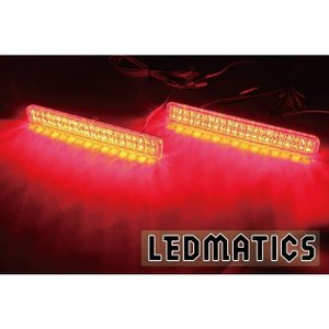 (LEDMATICS商品)ML21S ルークス HS 純正加工LEDリフレクター S1-88 axisparts